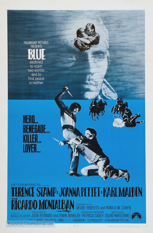 Blue - Movie Poster
