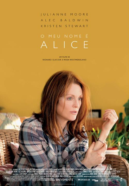 Still Alice - Portuguese Movie Poster