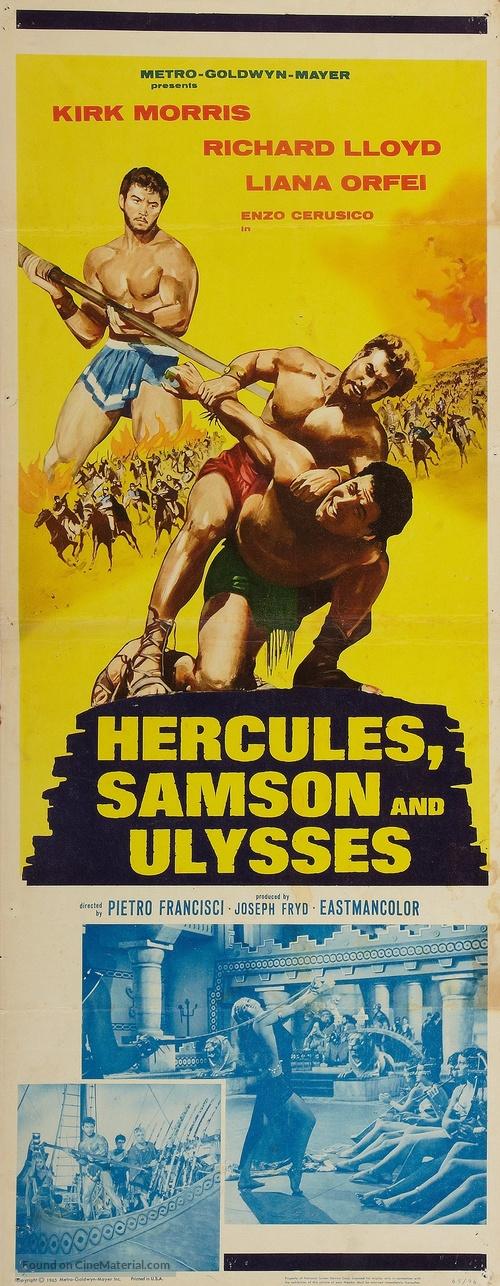 Ercole sfida Sansone - Movie Poster