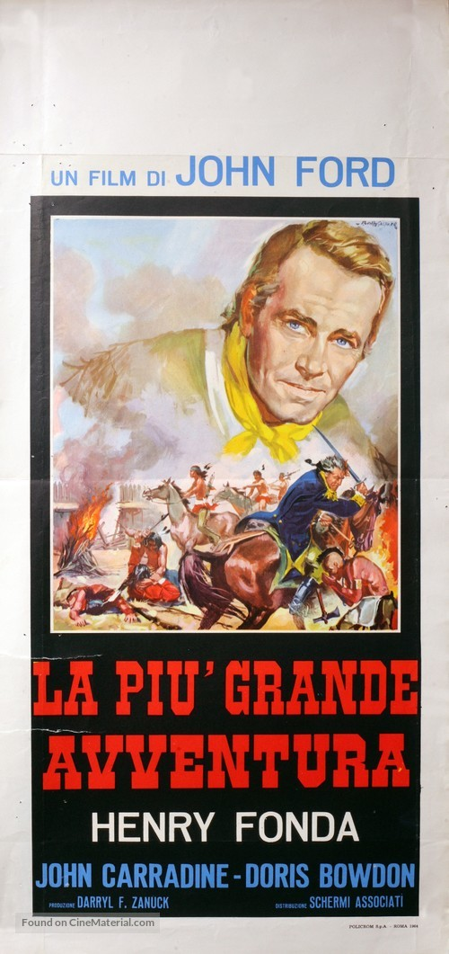 Drums Along the Mohawk - Italian Movie Poster
