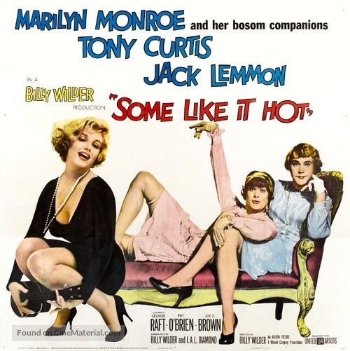 Some Like It Hot - Movie Poster