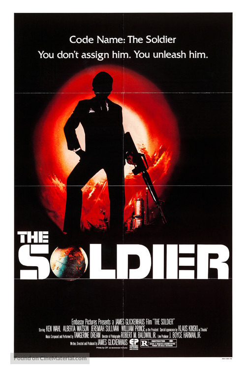The Soldier - Movie Poster