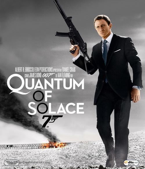 Quantum of Solace - Brazilian Movie Cover