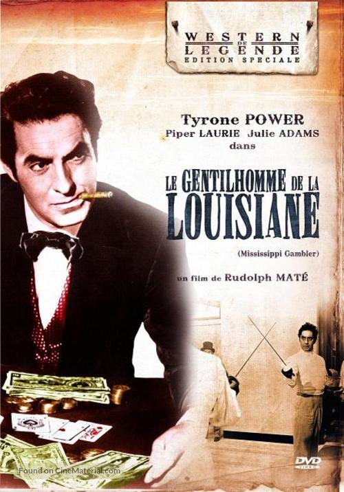 The Mississippi Gambler - French DVD movie cover