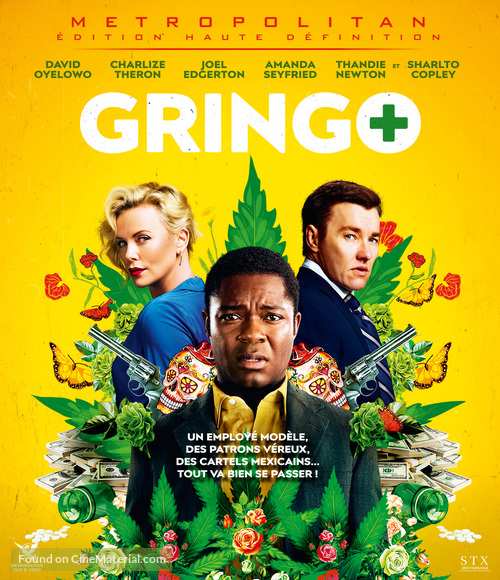 Gringo - French Blu-Ray movie cover