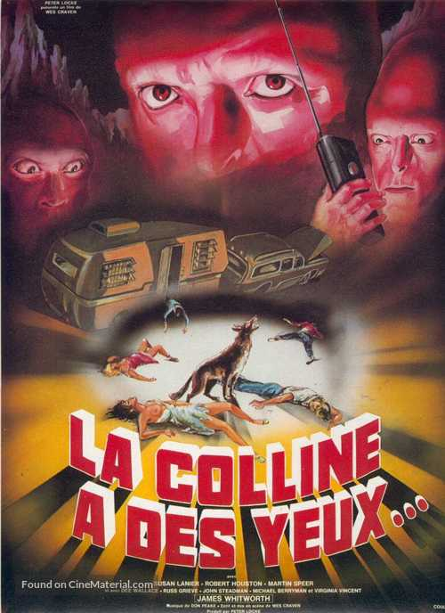 The Hills Have Eyes - French Movie Poster
