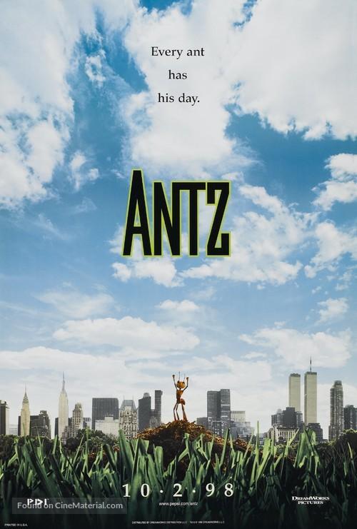 Antz - Teaser movie poster
