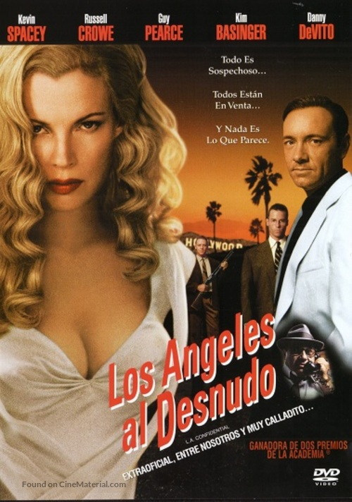 L.A. Confidential - Mexican DVD movie cover