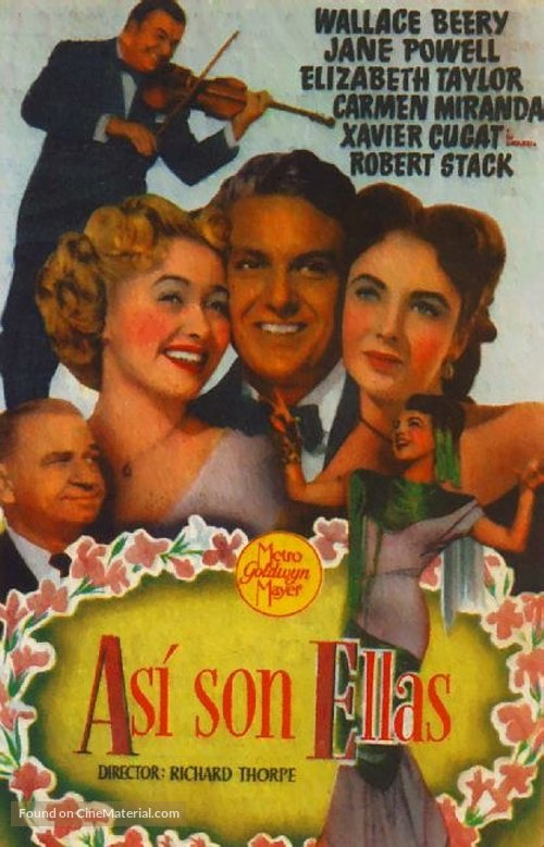 A Date with Judy - Spanish Movie Poster