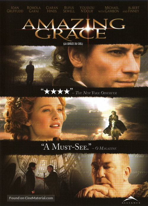 Amazing Grace - Canadian DVD movie cover