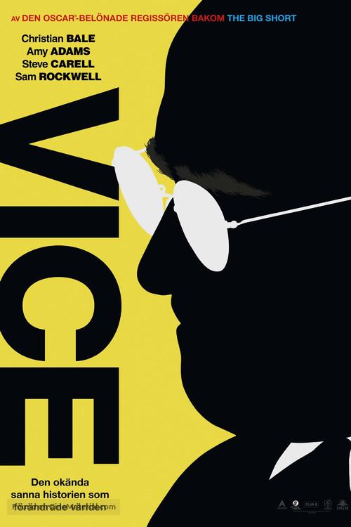 Vice - Swedish Movie Poster