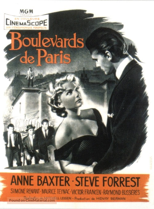 Bedevilled - French Movie Poster