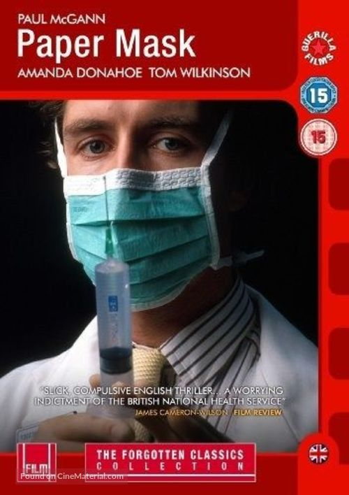 Paper Mask - British DVD movie cover