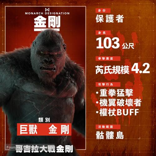 Godzilla vs. Kong - Chinese poster