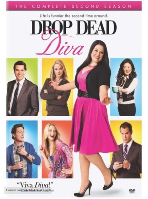 """Drop Dead Diva"" - DVD movie cover"