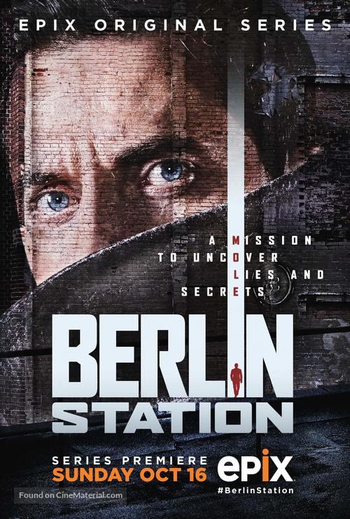 """Berlin Station"" - Movie Poster"