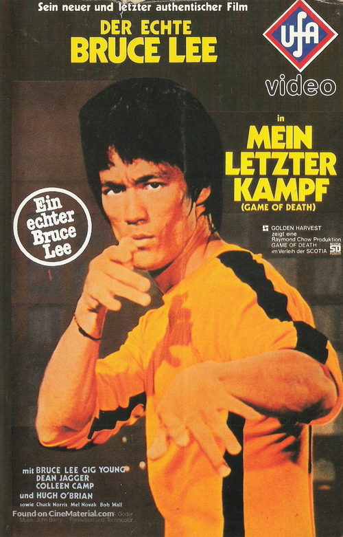 Game Of Death - German Movie Cover