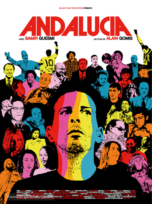 Andalucia - French Movie Poster