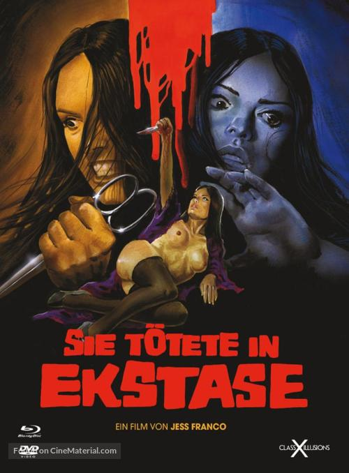 Sie tötete in Ekstase - Austrian Blu-Ray movie cover