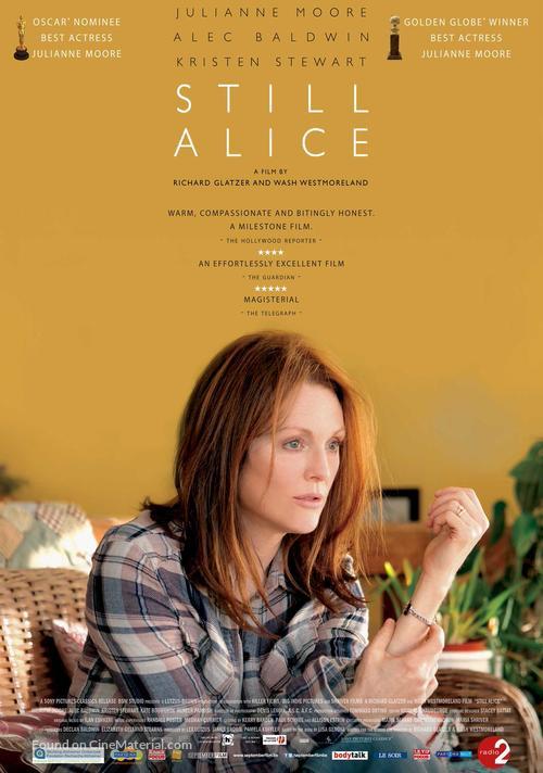 Still Alice - Belgian Movie Poster