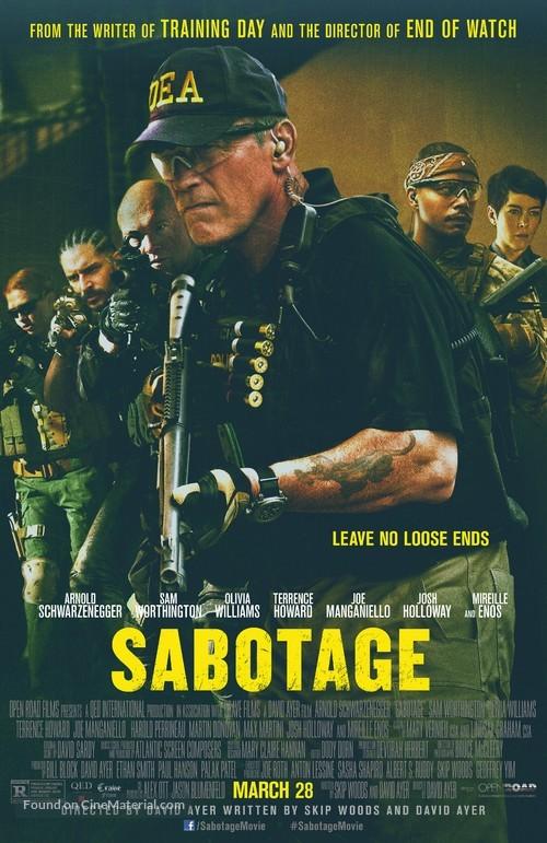 Sabotage - Movie Poster