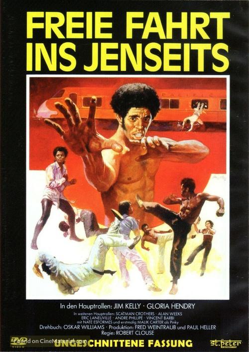 Black Belt Jones - German DVD movie cover