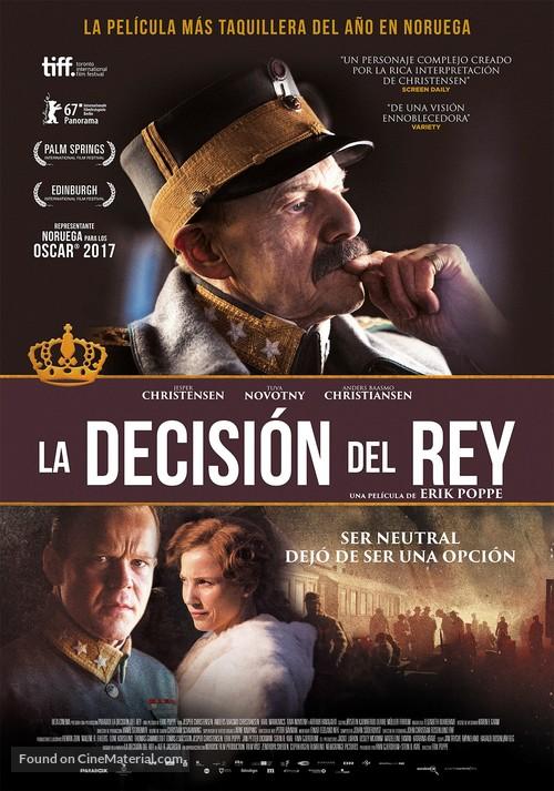 Kongens Nei - Spanish Movie Poster
