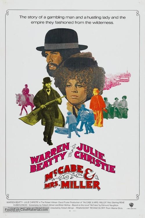 McCabe & Mrs. Miller - Movie Poster