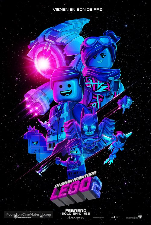 The Lego Movie 2: The Second Part - Mexican Movie Poster