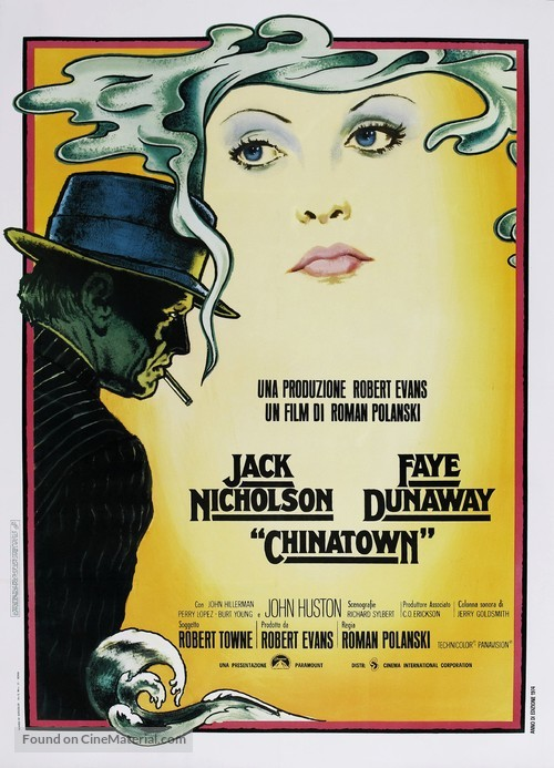 Chinatown - Italian Movie Poster