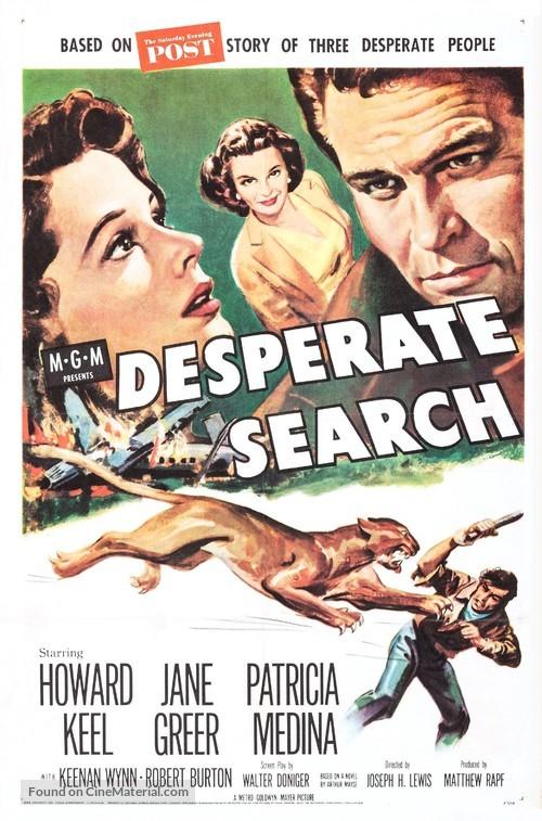 Desperate Search - Movie Poster