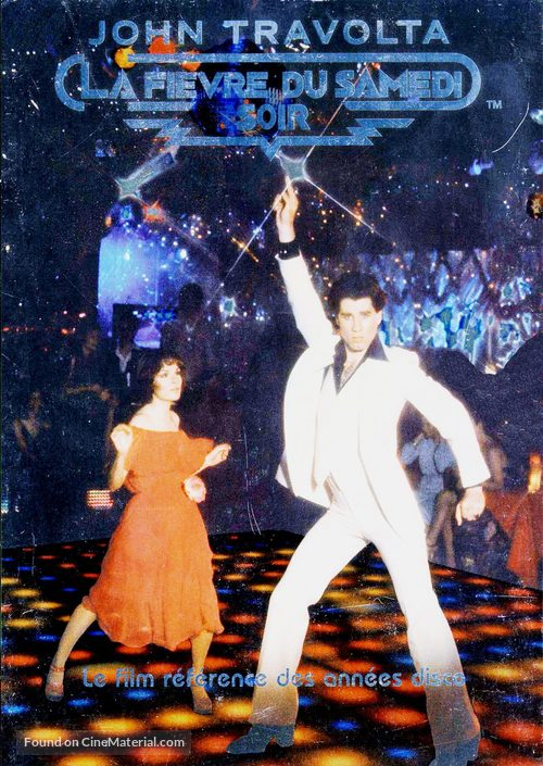 Saturday Night Fever - French Movie Cover