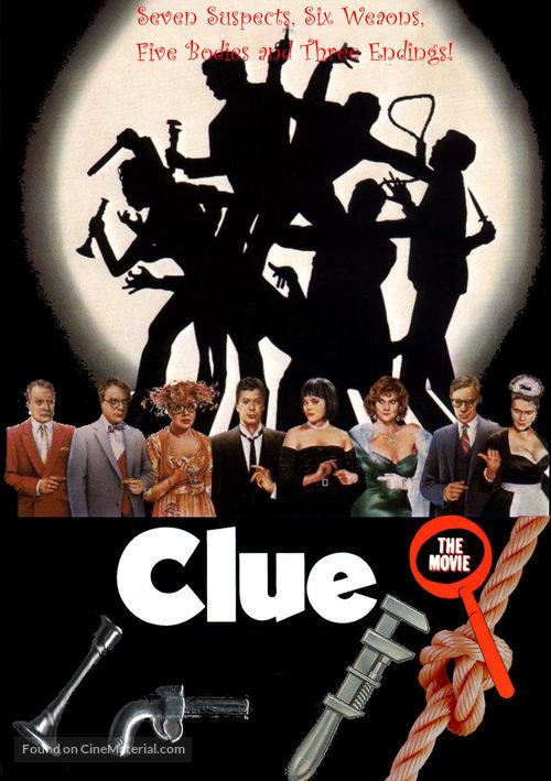 Clue - DVD movie cover