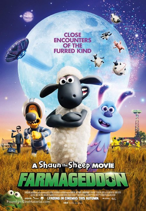 A Shaun the Sheep Movie: Farmageddon - Malaysian Movie Poster