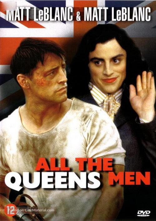 All the Queen's Men - Dutch DVD movie cover