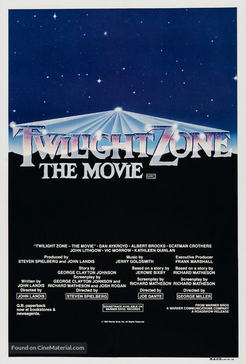 Twilight Zone: The Movie - Australian Movie Poster