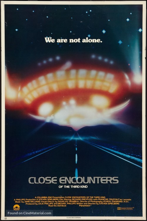 Close Encounters of the Third Kind - Movie Poster