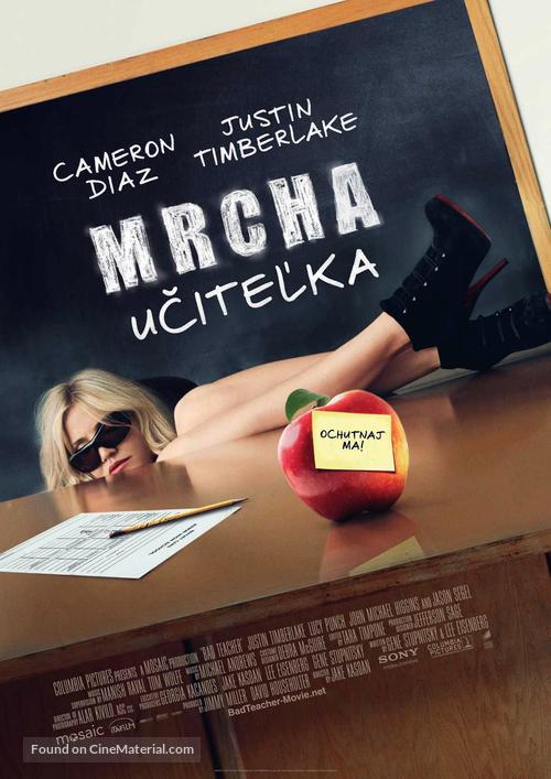 Bad Teacher - Slovak Movie Poster