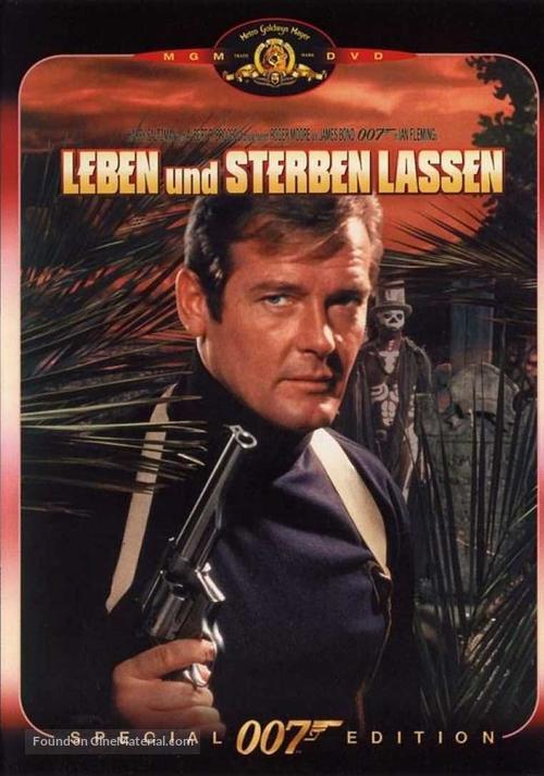 Live And Let Die - German Movie Cover