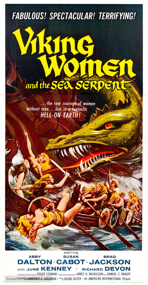 The Saga of the Viking Women and Their Voyage to the Waters of the Great Sea Serpent - Movie Poster