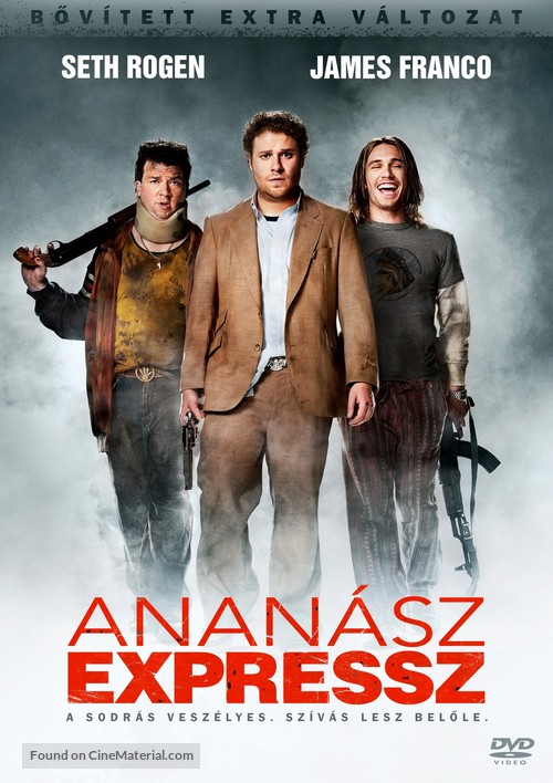Pineapple Express - Hungarian Movie Cover