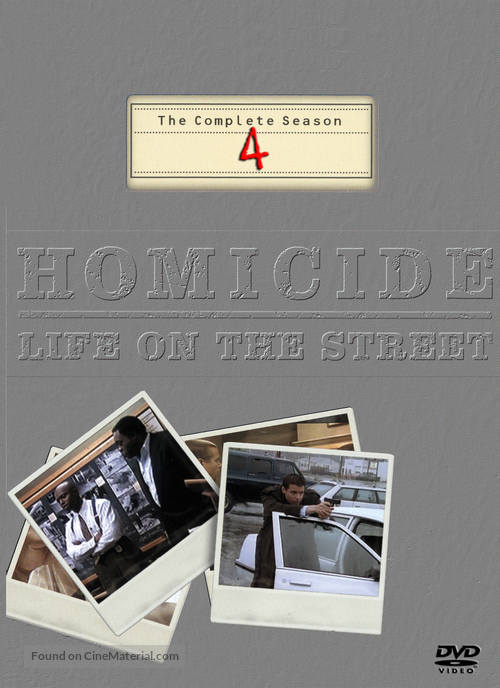"""Homicide: Life on the Street"" - DVD movie cover"