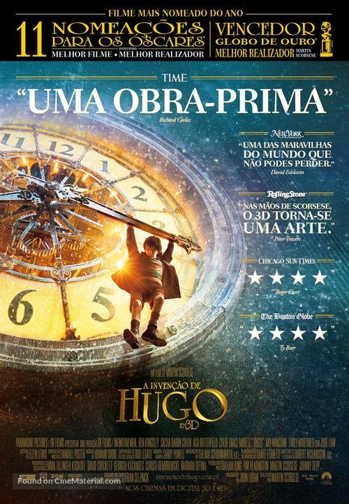 Hugo - Portuguese Movie Poster