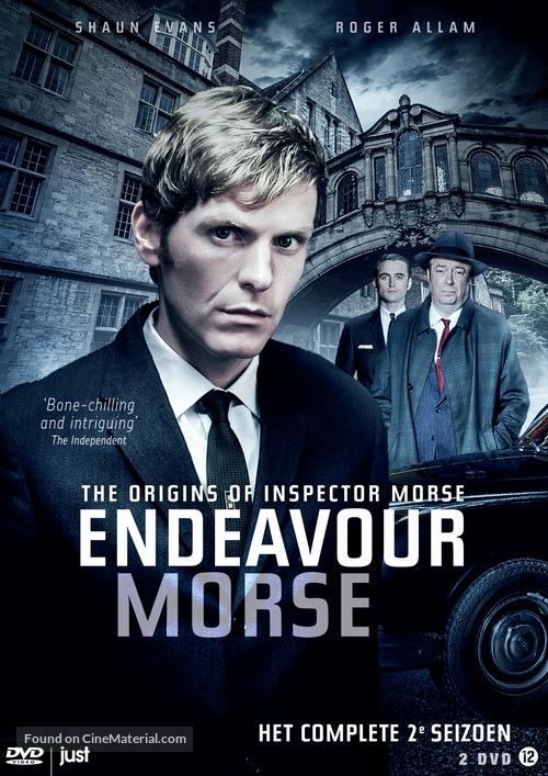 """Endeavour"" - Dutch DVD movie cover"