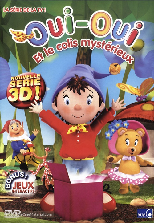 """Make Way for Noddy"" - French DVD movie cover"