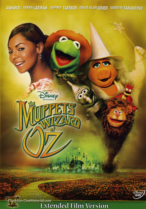 The Muppets Wizard Of Oz - DVD movie cover