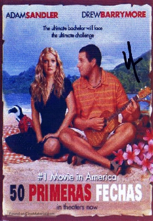 50 First Dates - Spanish Movie Poster