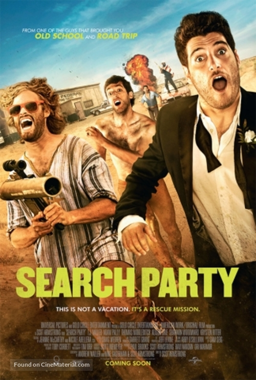 Search Party - Movie Poster