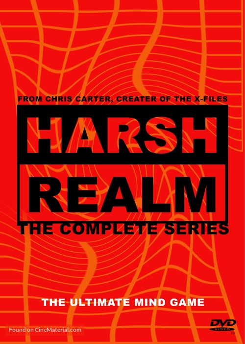 """""""Harsh Realm"""" - DVD movie cover"""
