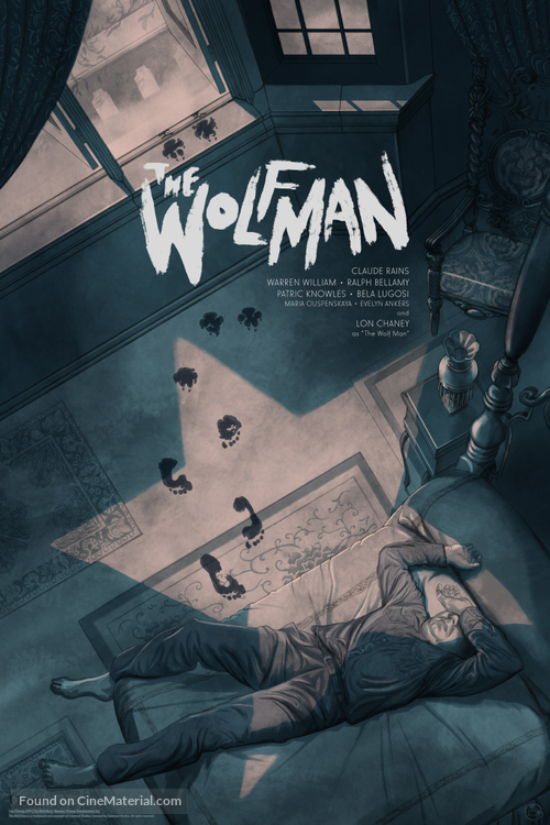 The Wolf Man - Re-release movie poster